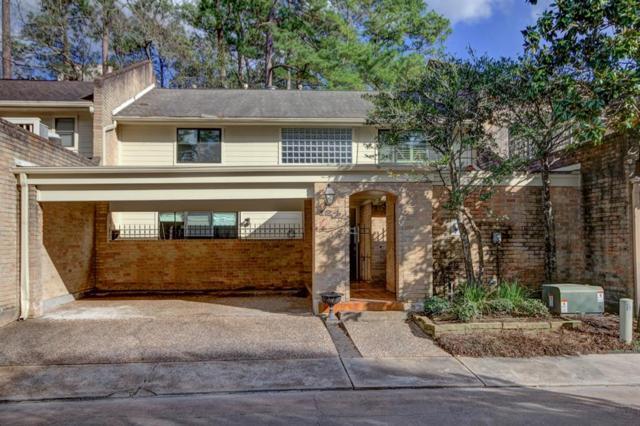 201 Vanderpool Lane #124, Houston, TX 77024 (MLS #3160002) :: Giorgi Real Estate Group