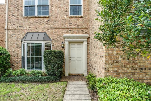 600 Wilcrest Drive #7, Houston, TX 77042 (MLS #31619296) :: The SOLD by George Team
