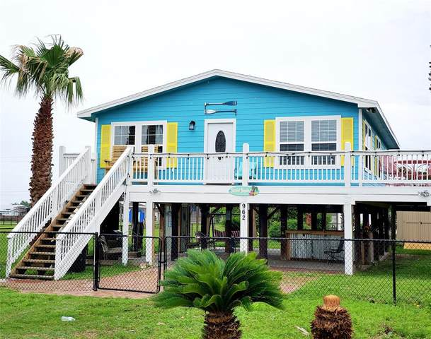 962 Wommack Drive, Crystal Beach, TX 77650 (MLS #31697043) :: The Home Branch