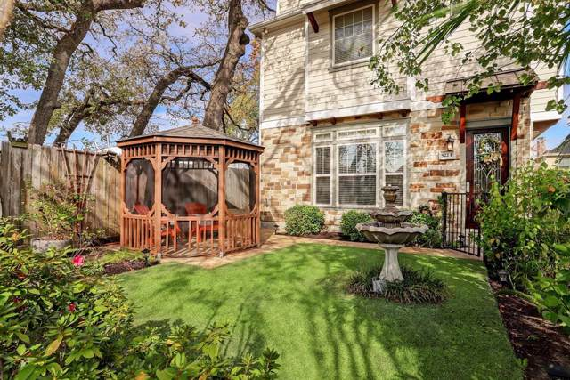 922 Fisher Street F, Houston, TX 77018 (MLS #3183244) :: The SOLD by George Team