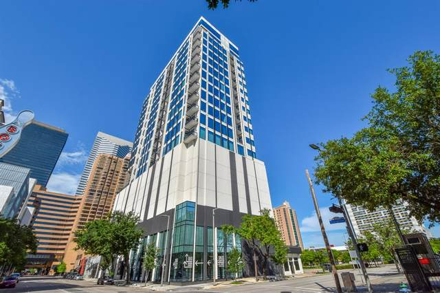 1211 Caroline Street #1502, Houston, TX 77002 (MLS #32206414) :: The SOLD by George Team