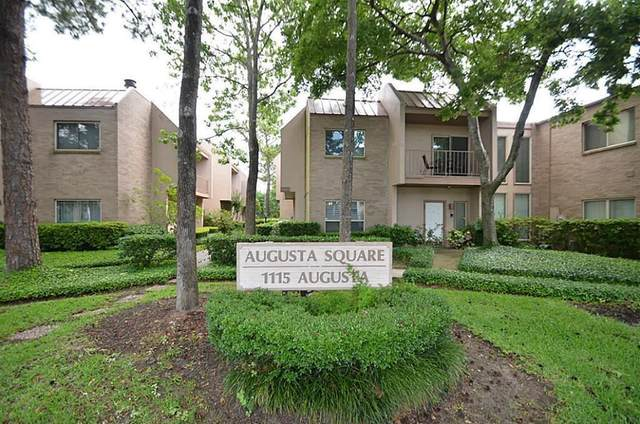 1115 Augusta Drive #22, Houston, TX 77057 (MLS #32431951) :: Guevara Backman