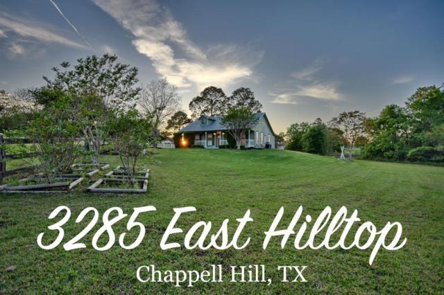 3285 E East Hilltop Drive Drive, Chappell Hill, TX 77426 (MLS #33423174) :: Texas Home Shop Realty