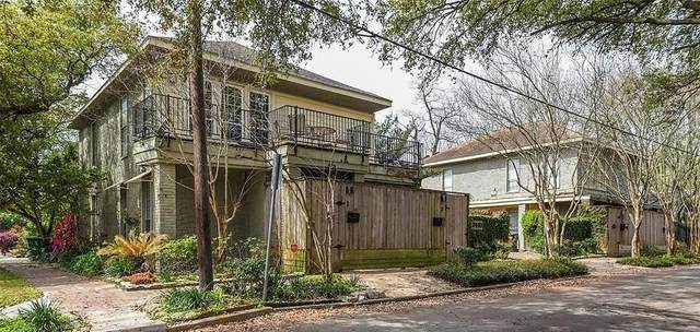 2510 Whitney Street #4, Houston, TX 77006 (MLS #33602935) :: The SOLD by George Team