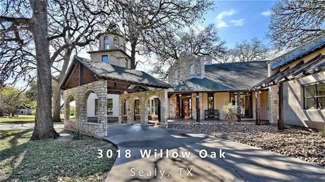 3018 Willow Oak Lane, Sealy, TX 77474 (MLS #33864189) :: Guevara Backman