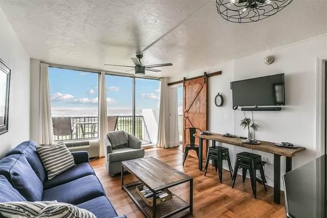 415 E Beach Drive #305, Galveston, TX 77550 (MLS #34315391) :: Caskey Realty