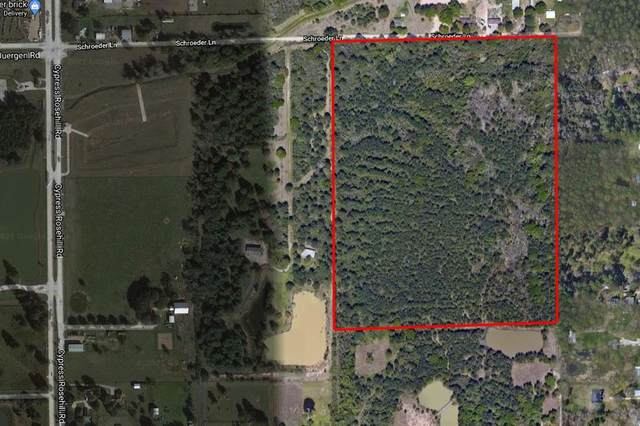 0 Schroeder Lane Road, Tomball, TX 77377 (MLS #3441141) :: The Freund Group