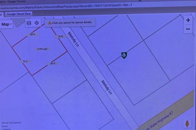 lot 3 Melody Lane, Crystal Beach, TX 77650 (MLS #3477014) :: All Cities USA Realty