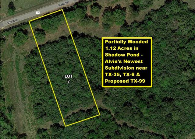 Lot 7 County Road 136, Alvin, TX 77511 (MLS #34809811) :: Connect Realty