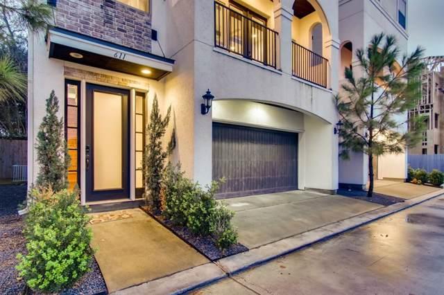 611 Mazal Lane, Houston, TX 77009 (MLS #34818016) :: Ellison Real Estate Team