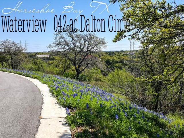 Lt41019 Dalton Circle, Horseshoe Bay, TX 78657 (MLS #34858487) :: Texas Home Shop Realty