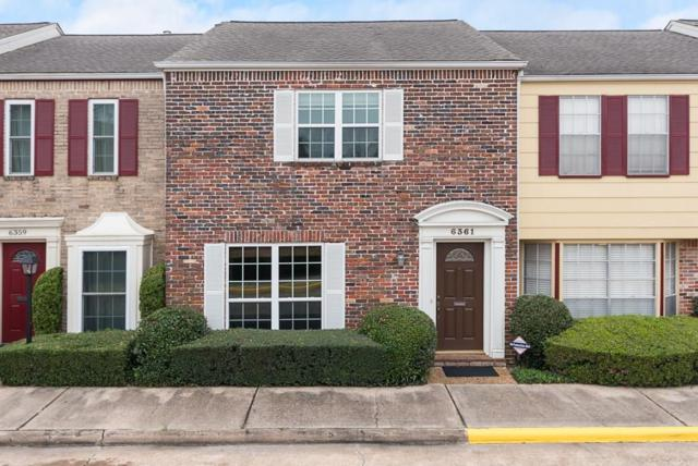 6361 Del Monte Drive #67, Houston, TX 77057 (MLS #34952378) :: The Sansone Group