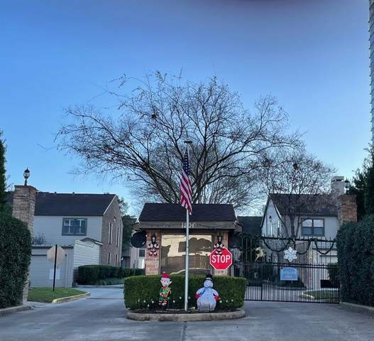 1201 Mcduffie Street #184, Houston, TX 77019 (MLS #34991763) :: Texas Home Shop Realty
