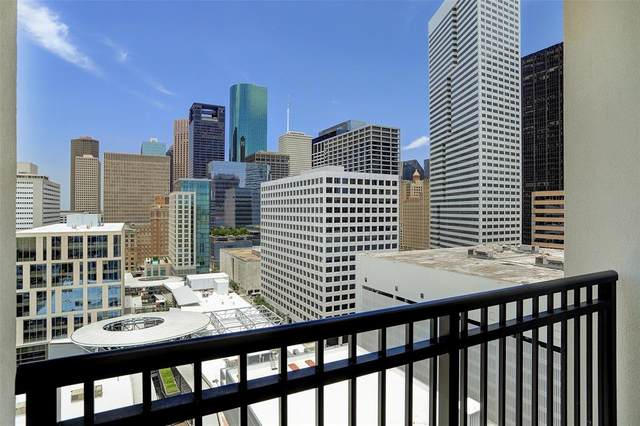 1211 Caroline Street #1607, Houston, TX 77002 (MLS #3520372) :: The Freund Group