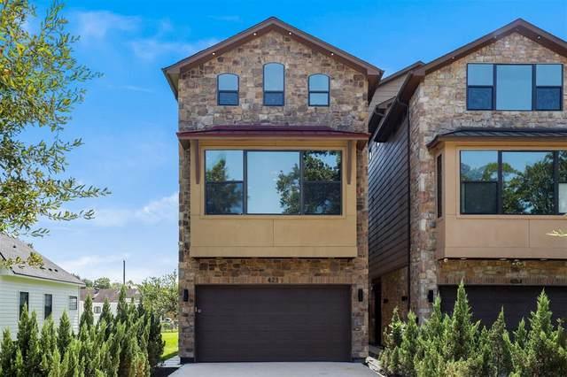 421 Fenn Street, Houston, TX 77018 (MLS #35350439) :: Caskey Realty