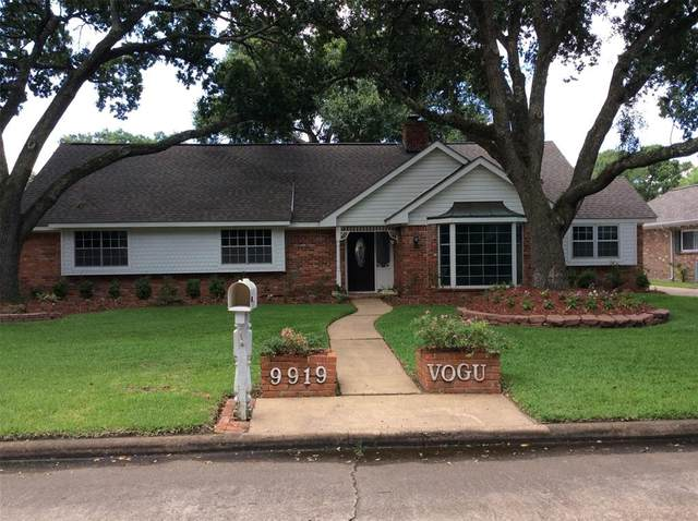 9919 Vogue Lane, Houston, TX 77080 (MLS #35374491) :: My BCS Home Real Estate Group