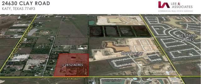 24630 Clay Road W, Katy, TX 77493 (MLS #35380454) :: Texas Home Shop Realty