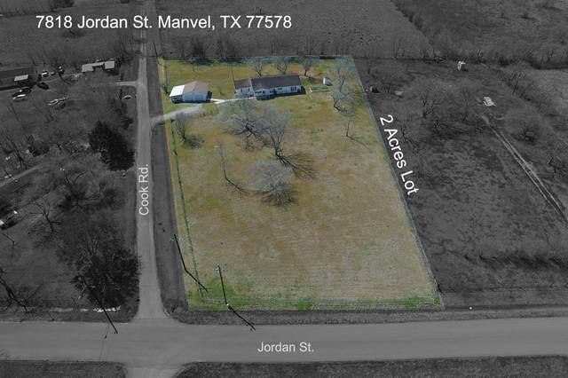 7818 Jordan Road, Manvel, TX 77578 (MLS #35382517) :: The Queen Team
