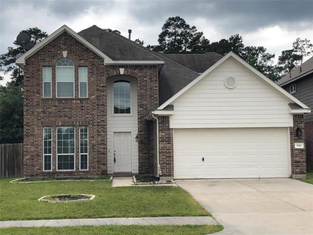 446 Oak Gate Drive, Conroe, TX 77304 (MLS #35415481) :: The Home Branch