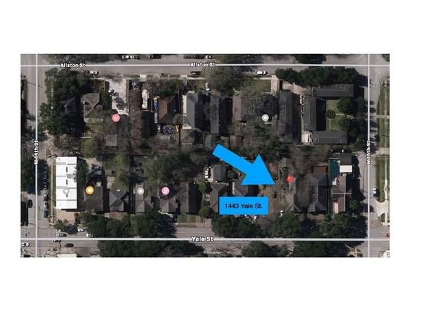 1443 Yale Street, Houston, TX 77008 (MLS #35446708) :: The Wendy Sherman Team