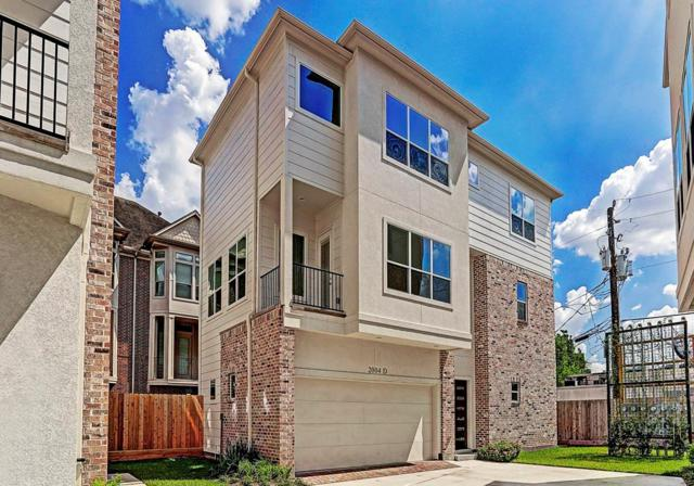 2004 Rosedale Street D, Houston, TX 77004 (MLS #3547419) :: The Heyl Group at Keller Williams
