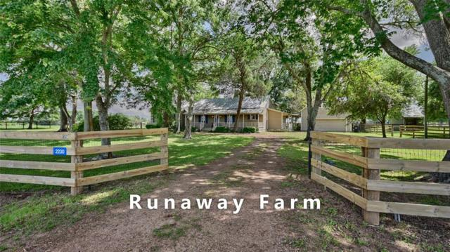 2230 Peters San Felipe Road, Sealy, TX 77474 (MLS #35517574) :: Texas Home Shop Realty