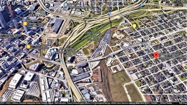 1808 Chestnut Street, Houston, TX 77009 (MLS #35531941) :: Texas Home Shop Realty