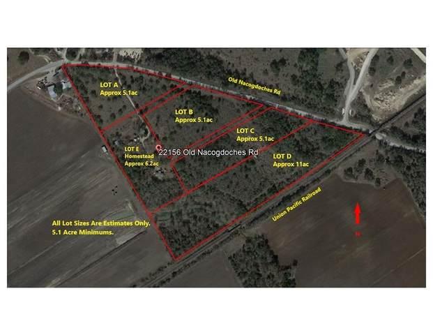 22156 Old Nacogdoches Road, New Braunfels, TX 78132 (MLS #35545389) :: Michele Harmon Team