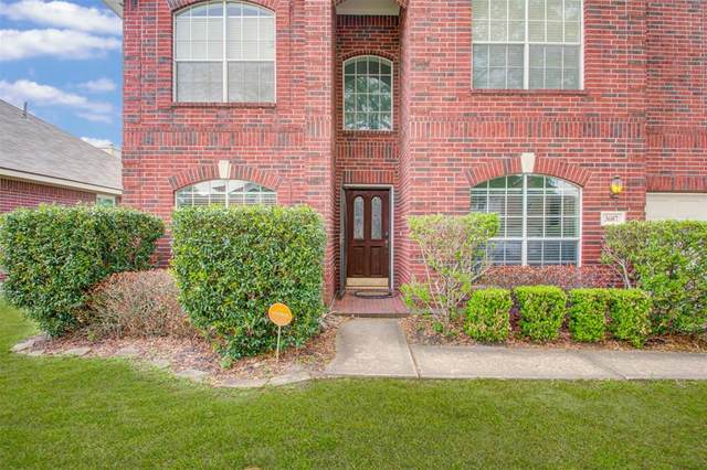 3607 Chatwood Drive, Pearland, TX 77584 (MLS #35871283) :: The Home Branch