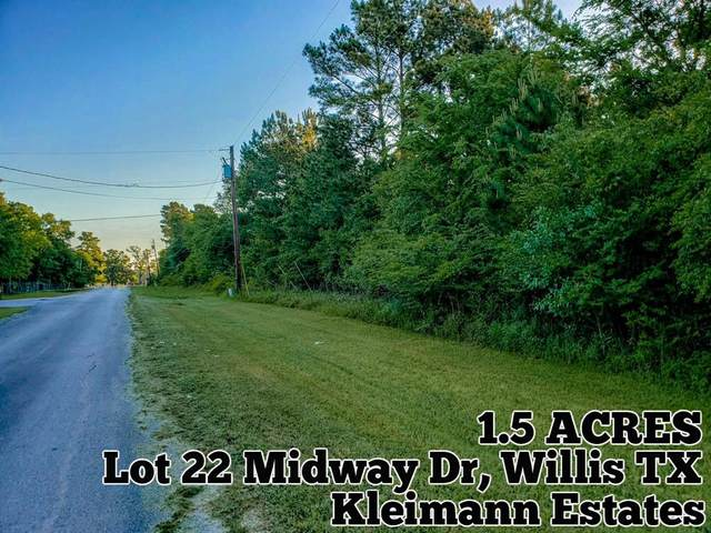 Lot 22 Midway Drive, Willis, TX 77318 (MLS #3588792) :: Giorgi Real Estate Group