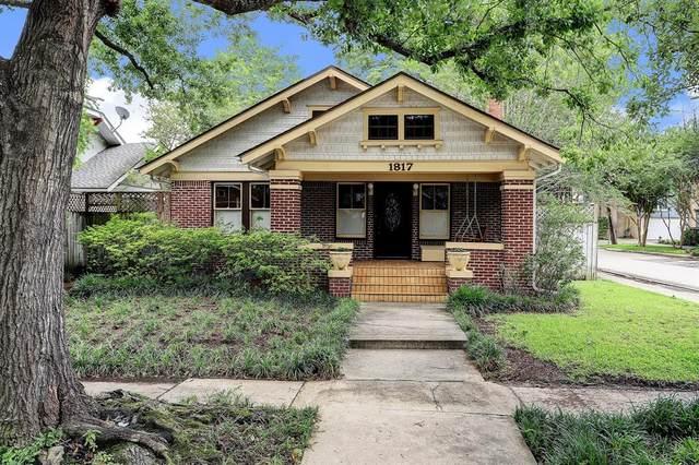 1817 Haver Street, Houston, TX 77006 (#36121040) :: ORO Realty