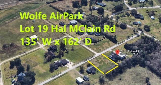 lot 19 Hal Mclain Road, Manvel, TX 77578 (MLS #36496393) :: Keller Williams Realty