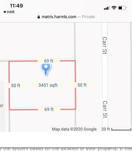 0 Carr Street, Houston, TX 77026 (MLS #36543728) :: Michele Harmon Team