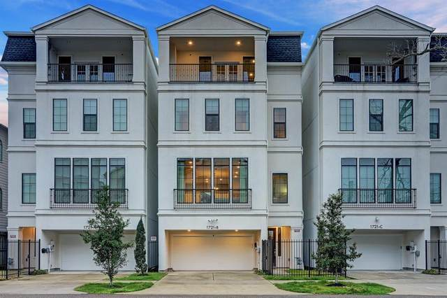 1721 Utah Street B, Houston, TX 77007 (MLS #36580464) :: Area Pro Group Real Estate, LLC