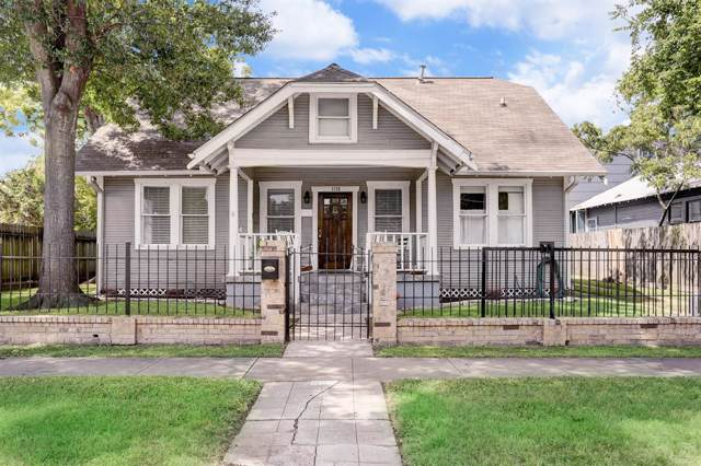 1135 Woodland Street, Houston, TX 77009 (MLS #36609978) :: Texas Home Shop Realty