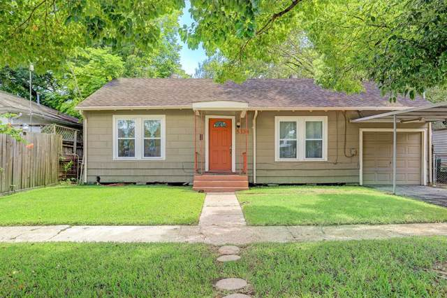 5334 Pease Street, Houston, TX 77023 (MLS #36880830) :: Texas Home Shop Realty