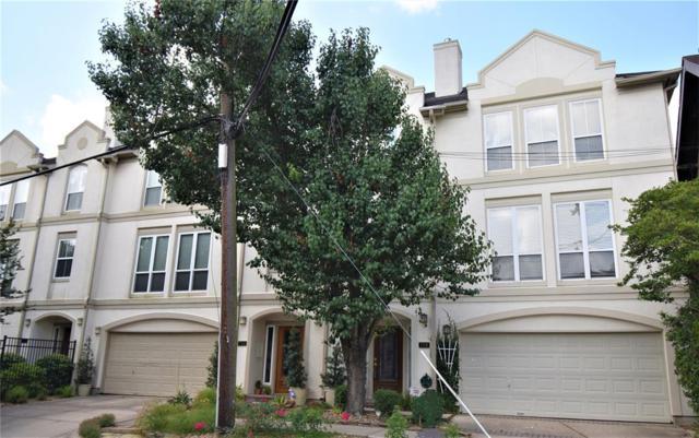 708 Rosedale Street, Houston, TX 77006 (MLS #36912428) :: The Heyl Group at Keller Williams