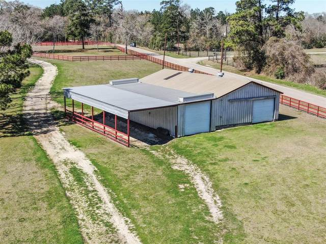 10845 Blackland Road, Willis, TX 77318 (MLS #37279310) :: The SOLD by George Team