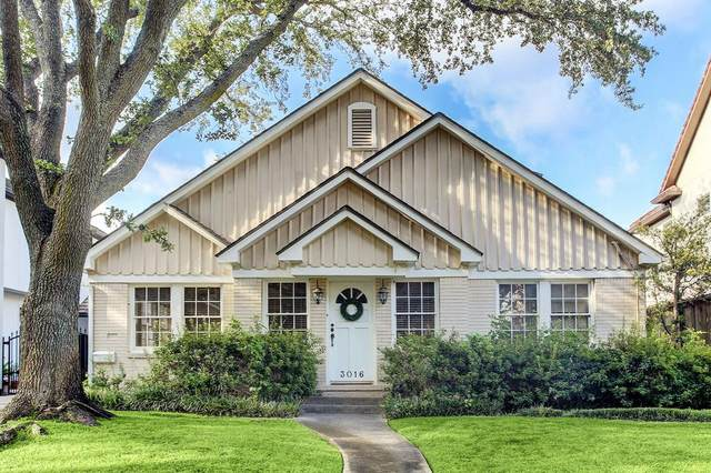 3016 Tangley Road, West University Place, TX 77005 (MLS #37362990) :: Texas Home Shop Realty