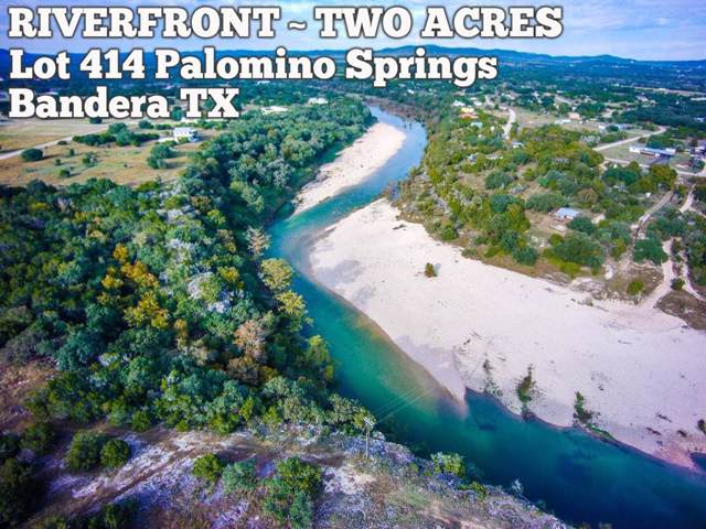 Lot 414 Palomino Springs, Bandera, TX 78003 (MLS #37474664) :: The Heyl Group at Keller Williams