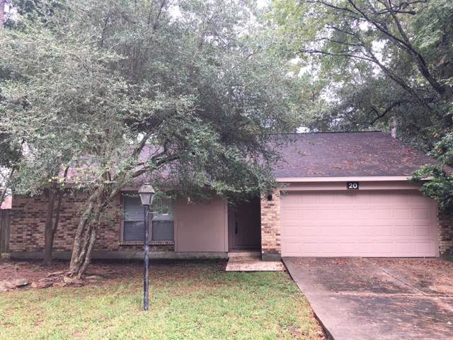20 Yewleaf Road, The Woodlands, TX 77381 (MLS #37529747) :: The Heyl Group at Keller Williams
