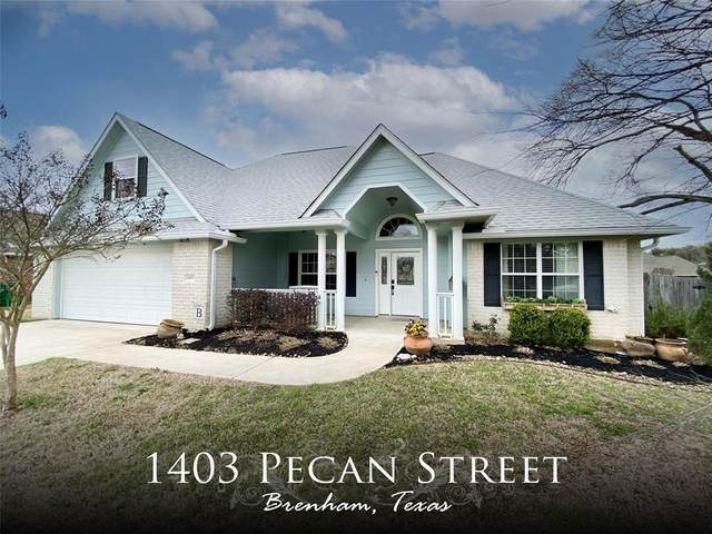 1403 Pecan Street, Brenham, TX 77833 (MLS #37650546) :: The Property Guys