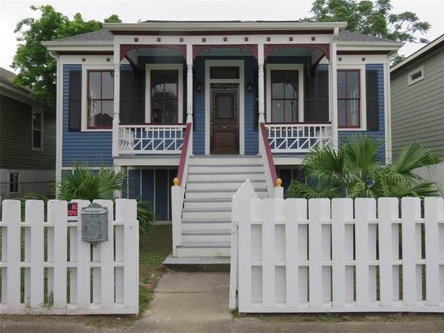 917 Ball Street, Galveston, TX 77550 (MLS #3770608) :: The Heyl Group at Keller Williams