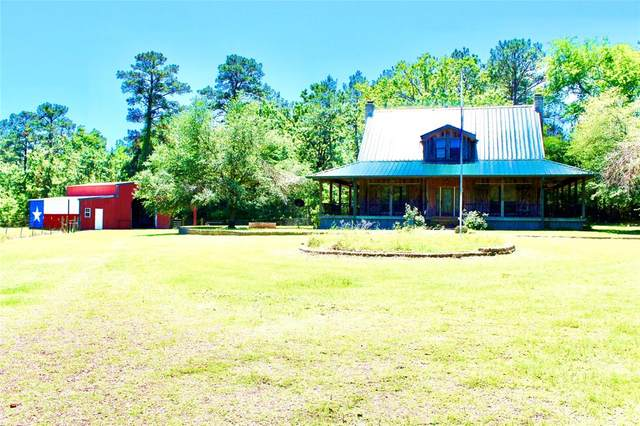 408 County Road 1585, Grapeland, TX 75844 (MLS #37737946) :: Michele Harmon Team