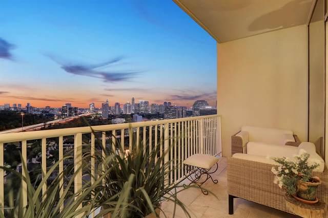 121 N Post Oak Lane #2202, Houston, TX 77024 (MLS #37800884) :: My BCS Home Real Estate Group
