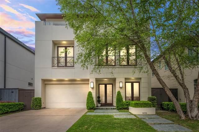 1606 Morse Street, Houston, TX 77019 (MLS #37979728) :: Keller Williams Realty