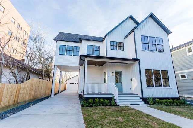 726 E 11th 1/2 Street, Houston, TX 77008 (MLS #38095158) :: The Parodi Team at Realty Associates