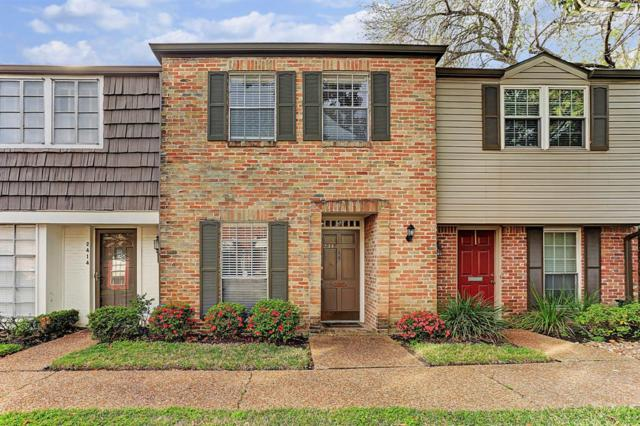 2412 Tarrytown Mall #28, Houston, TX 77057 (MLS #38137684) :: The Heyl Group at Keller Williams