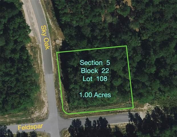 5-22-108 Feldspar Lane, Huntsville, TX 77340 (MLS #38168832) :: Front Real Estate Co.
