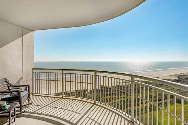 801 E Beach Drive Tw1408, Galveston, TX 77550 (MLS #38336704) :: The Heyl Group at Keller Williams